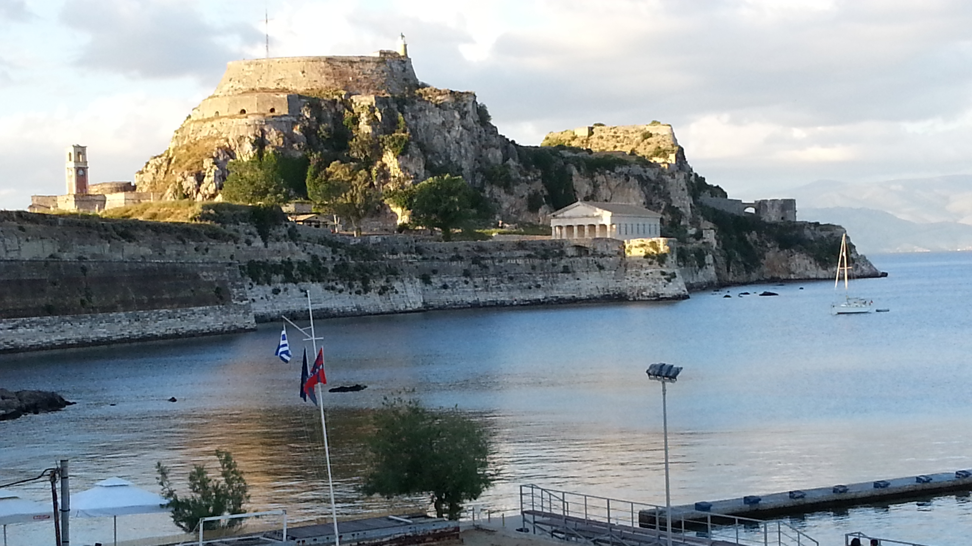 Sights of Corfu - Fortezza, the Old Fortress