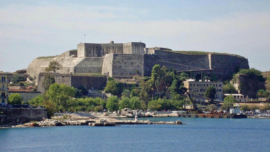 Sights of Corfu - The New Fortress