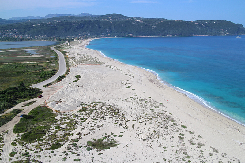 The lagoon of Lefkada