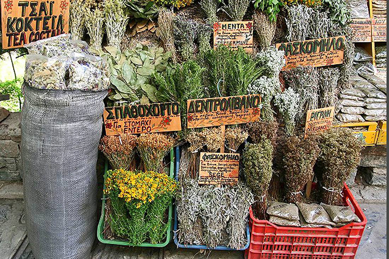 Greek herbs-Greek souvenirs