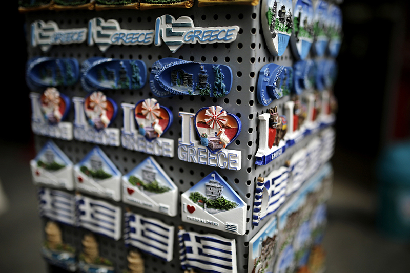 Fridge magnets - Greek souvenirs