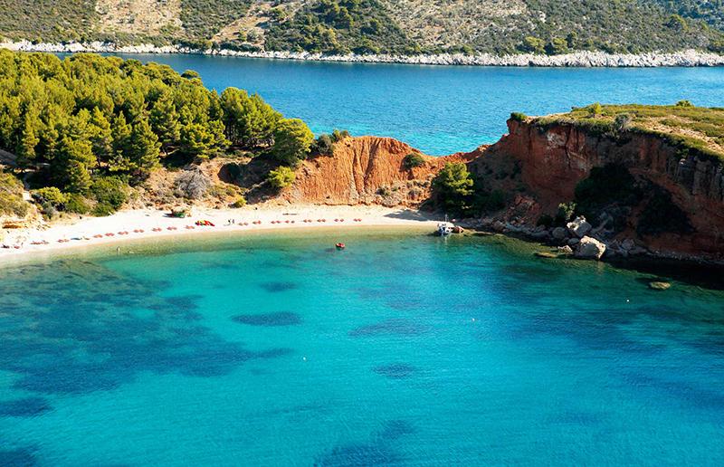 Beach inAlonisos - Sporades Island Hopping