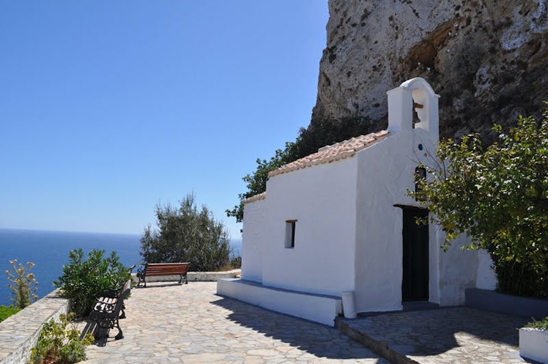 The Medieval Castle in Skyros