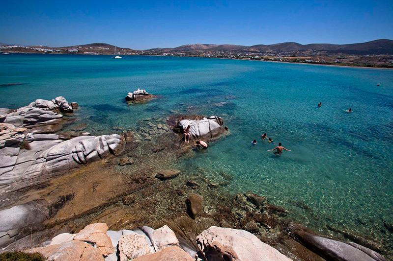Kolympithres beach, Paros