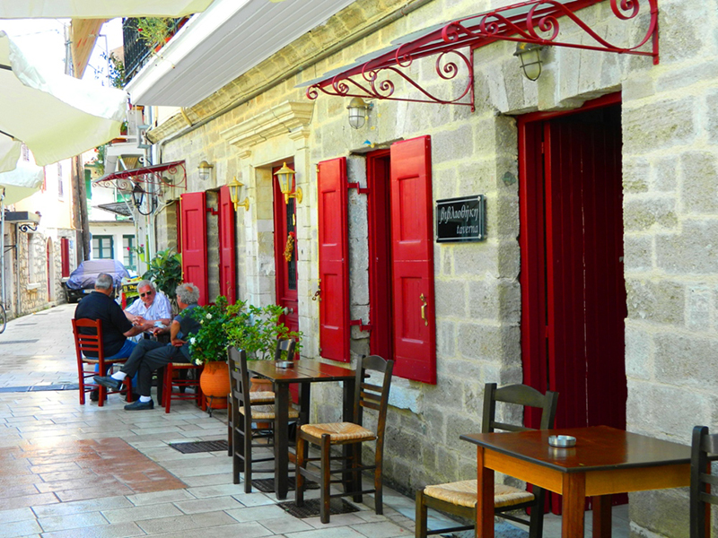 The Old Town in Lefkada