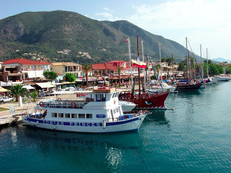 The Port of Lefkada