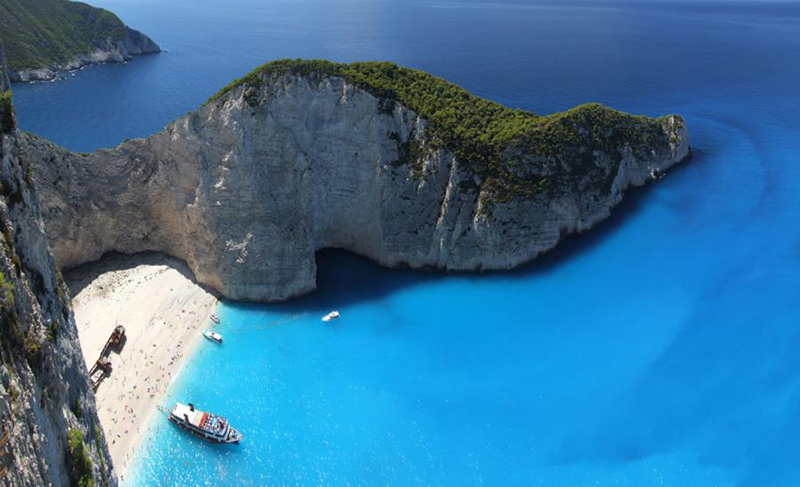 Navagio beach, Best beaches In Greece