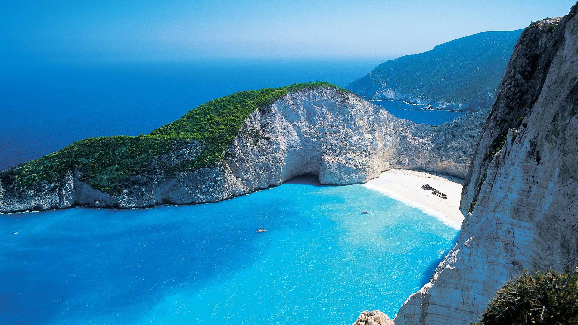 The 10 best beaches in greece villa like home blog for Fond ecran gratuit pour ordinateur grand format