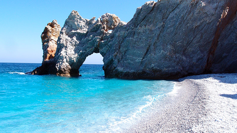 Beach in Skiathos - Sporades Island Hopping