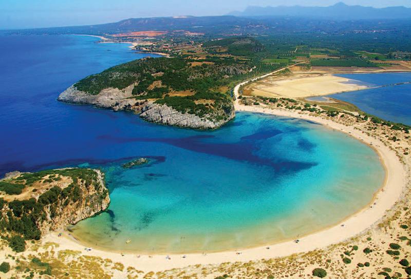 Voidokilia beach, Peloponnese
