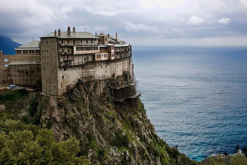 Athos - The Holy Mountain In Greece