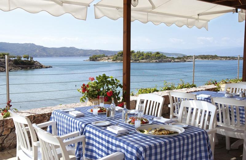 Nice restaurant in Porto Heli
