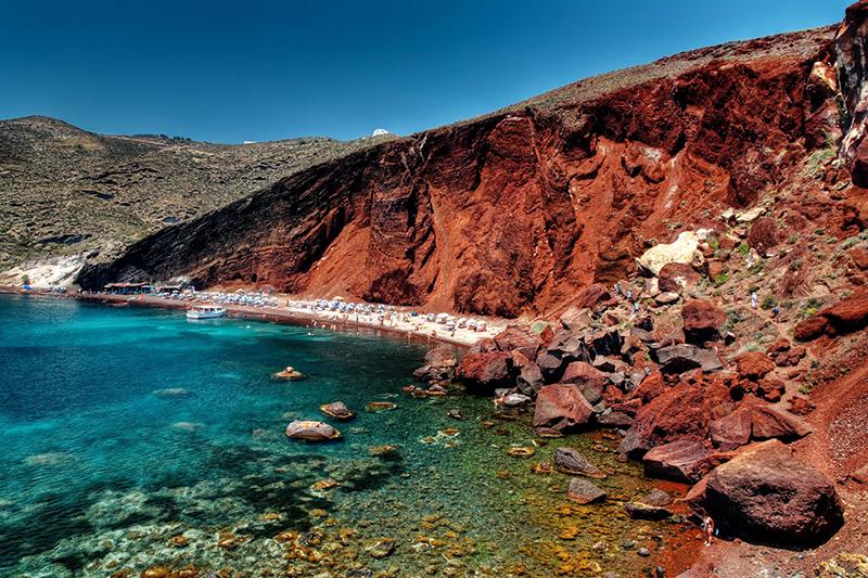 Red beach - Santorini