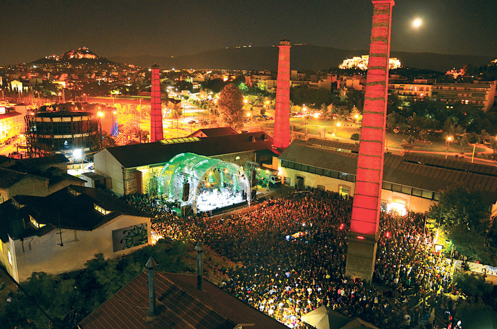 Technopolis Jazz Festival in Athens