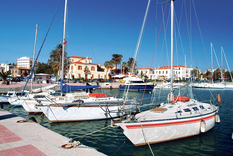 The beautiful port of Lavrio