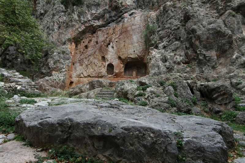 Castalia Spring In Delphi