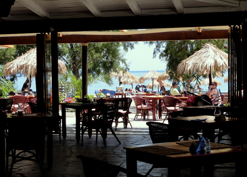 Chester's beach bar restaurant