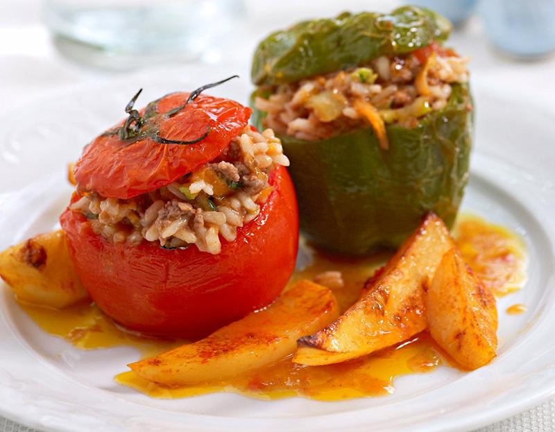 Gemista - Mediterranean diet