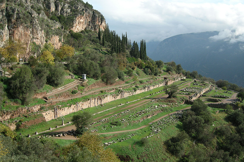 The Gymnasium - Delphi Archaeological Site