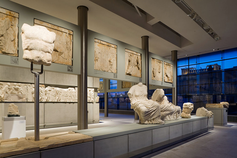 The Parthenon Gallery in Acropolis Museum