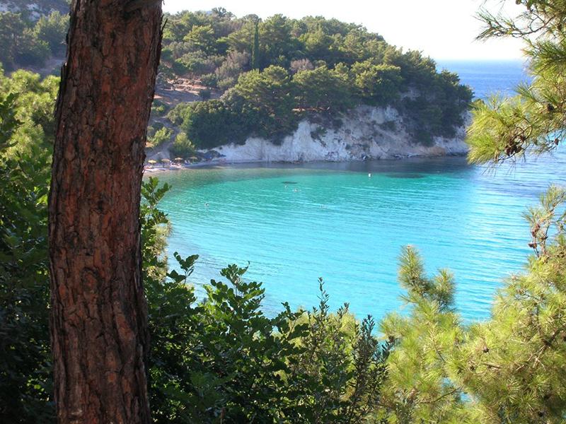 Tsamadou beach, Samos