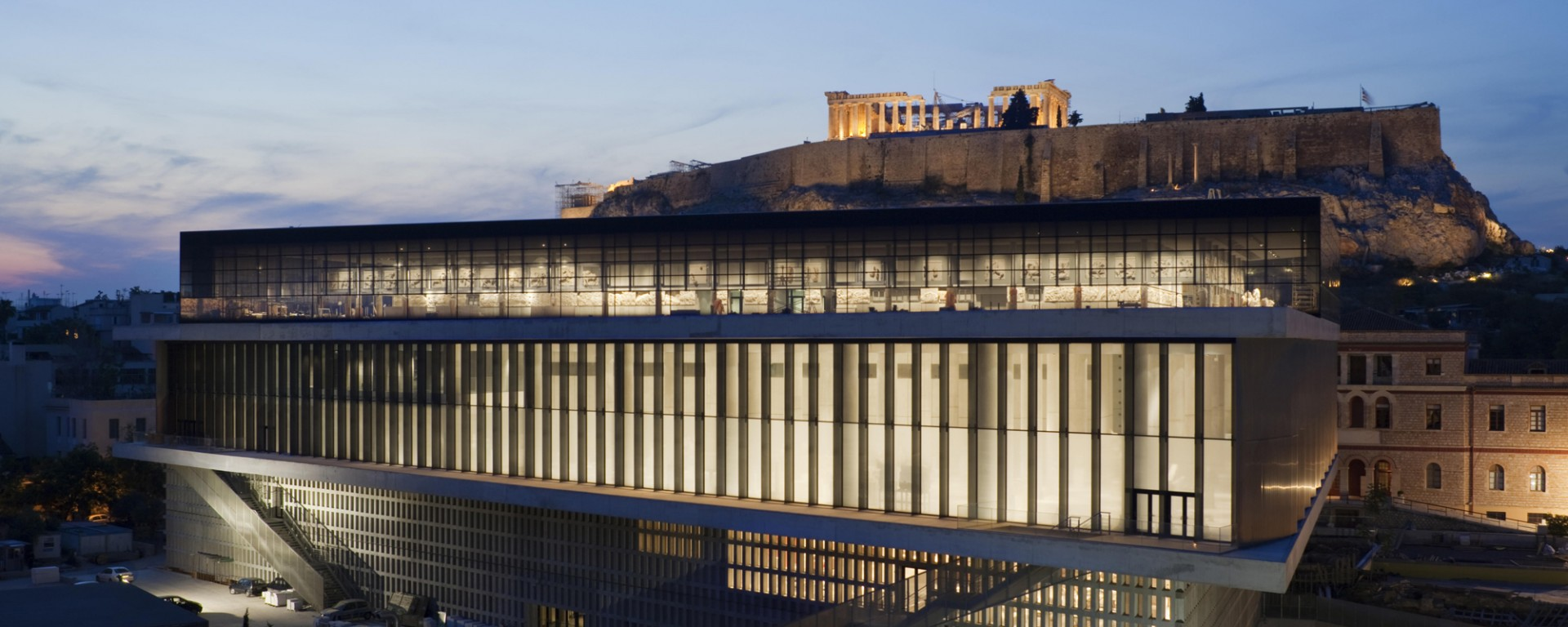 A Tour In Acropolis Museum, Greece