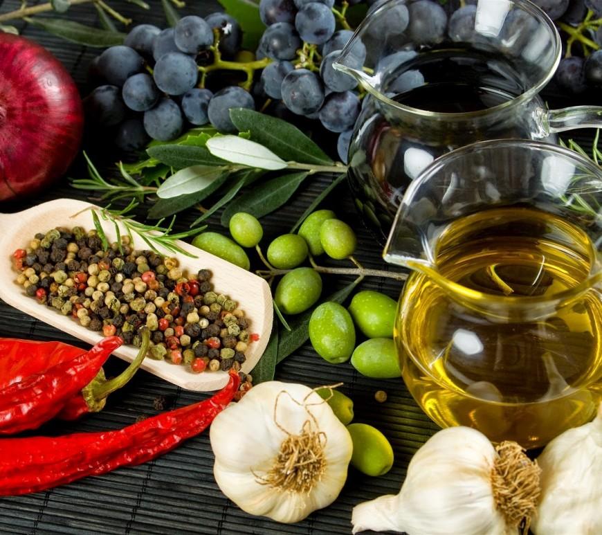 Mediterranean cuisine in Greece