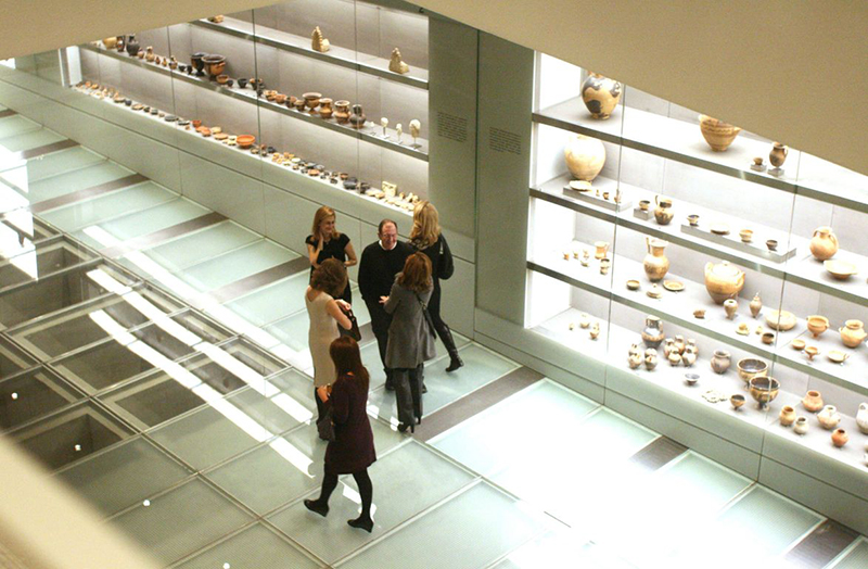 The Foyer Gallery in Acropolis Museum