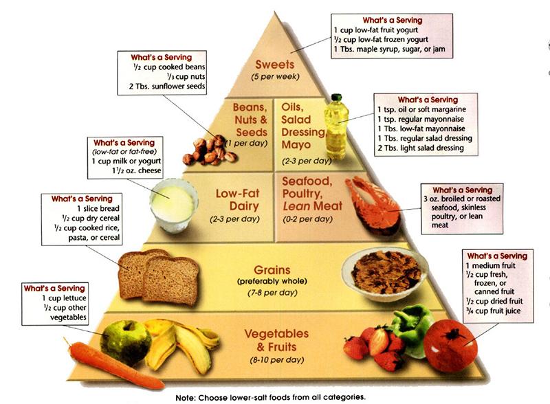 The Mediterranean pyramid