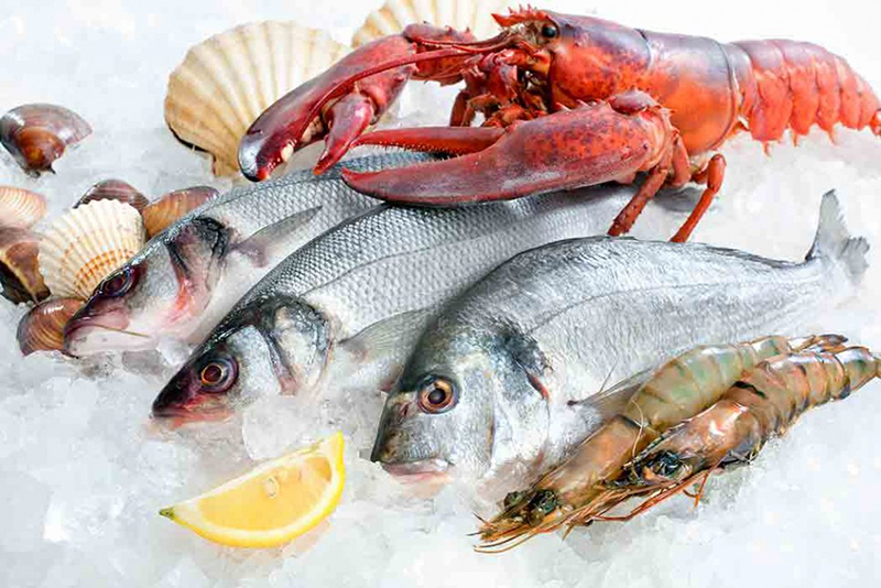 Fish and seafood - Mediterranean cuisine