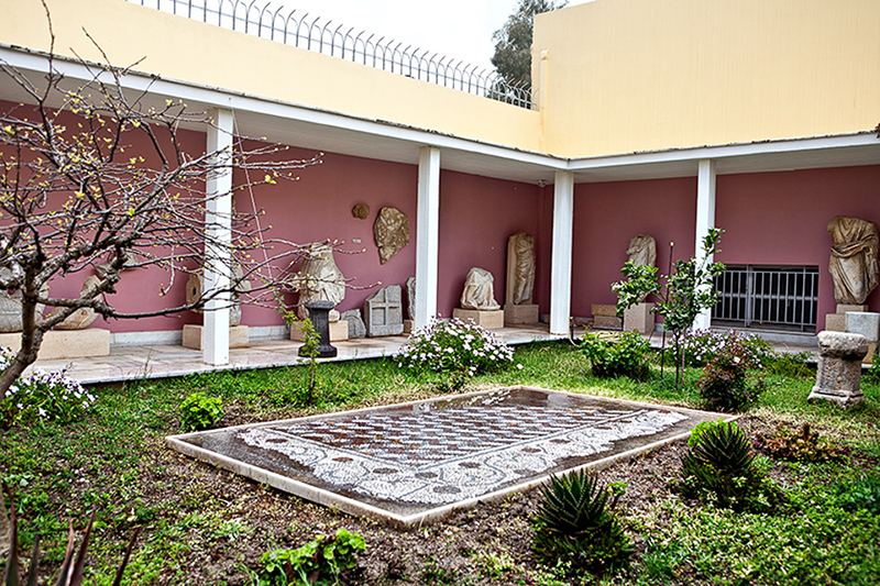 The Archaeological Museum in Tinos