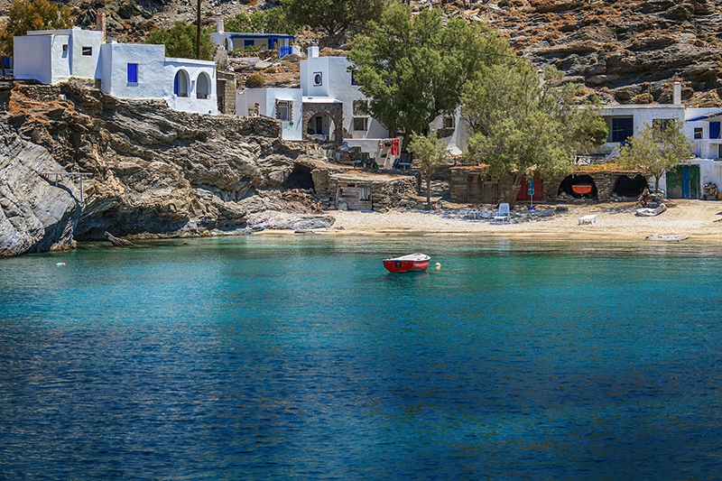Panormos bay, Tinos, Greece