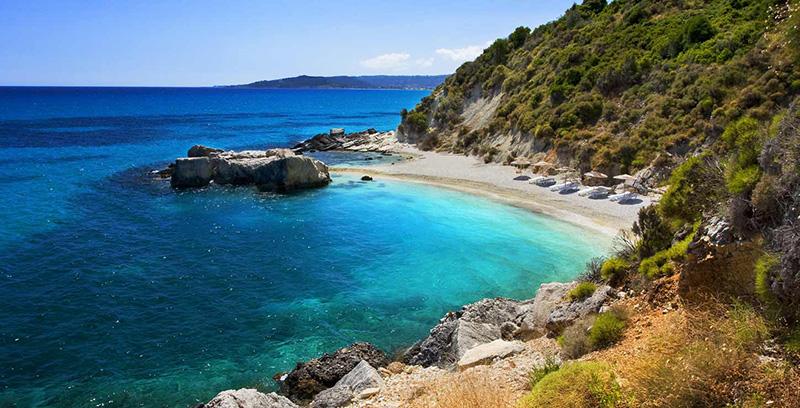 Xigia beach of Zakynthos