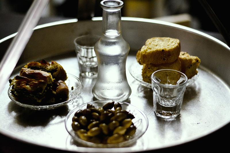 Top 3 Greek drinks - Tsikoudia