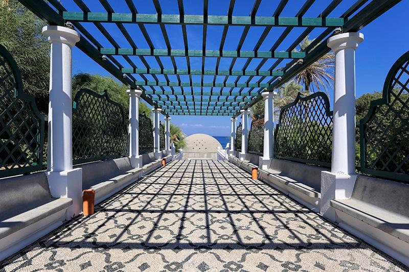 Kallithea Springs in Rhodes