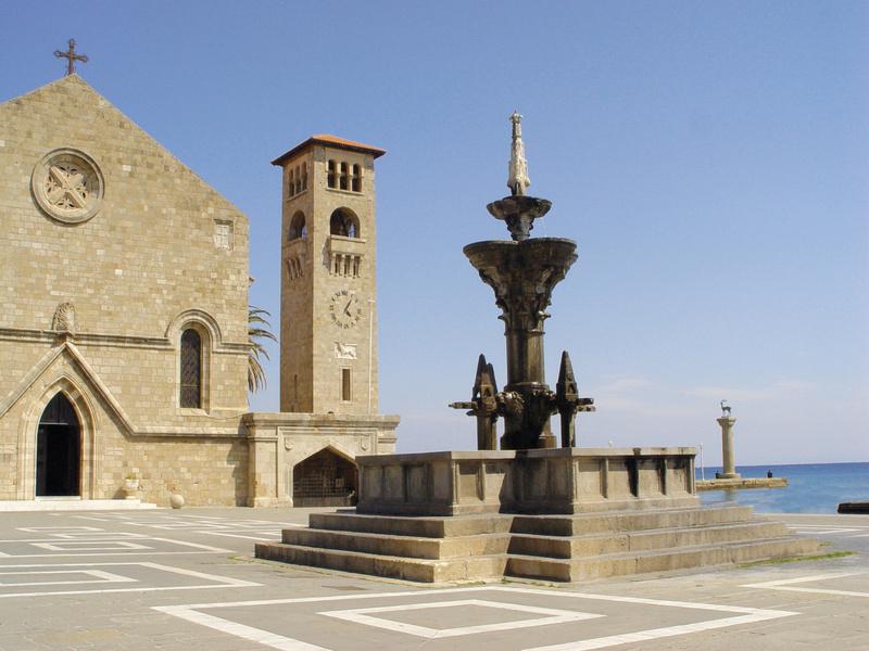 St. Nicholas church in Mandraki