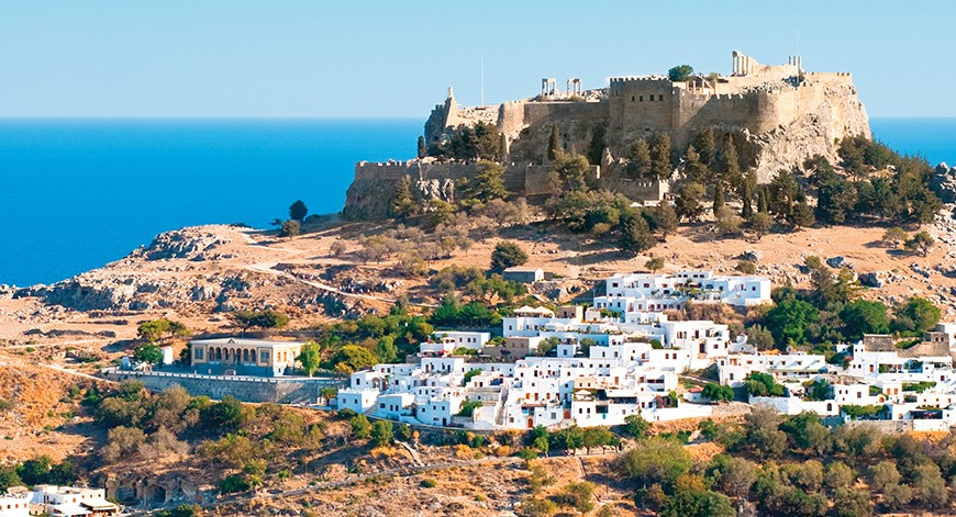 Rhodes holidays - The Knights Island in Dodecanese