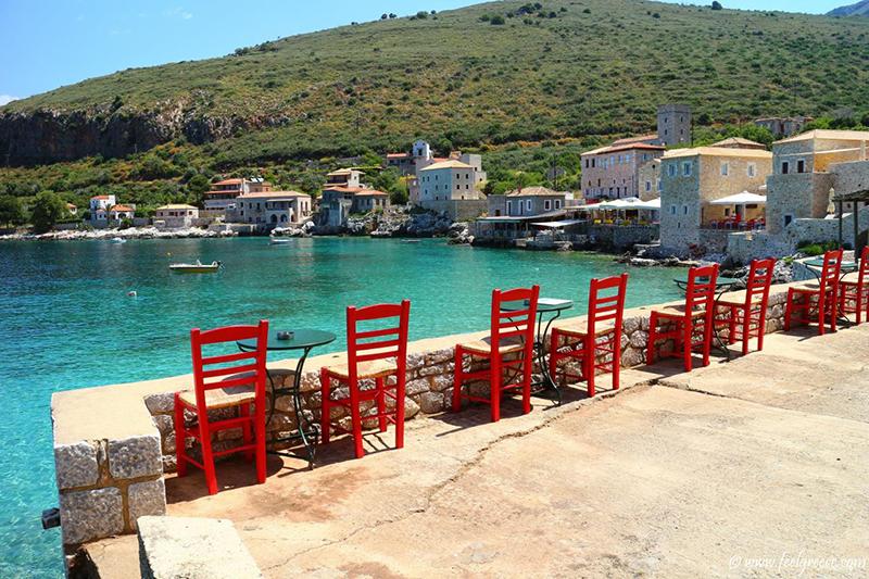 Tavern in Mani - Peloponnese