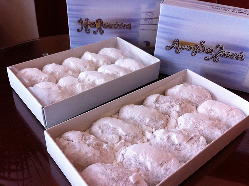almond sweets - Andros holidays