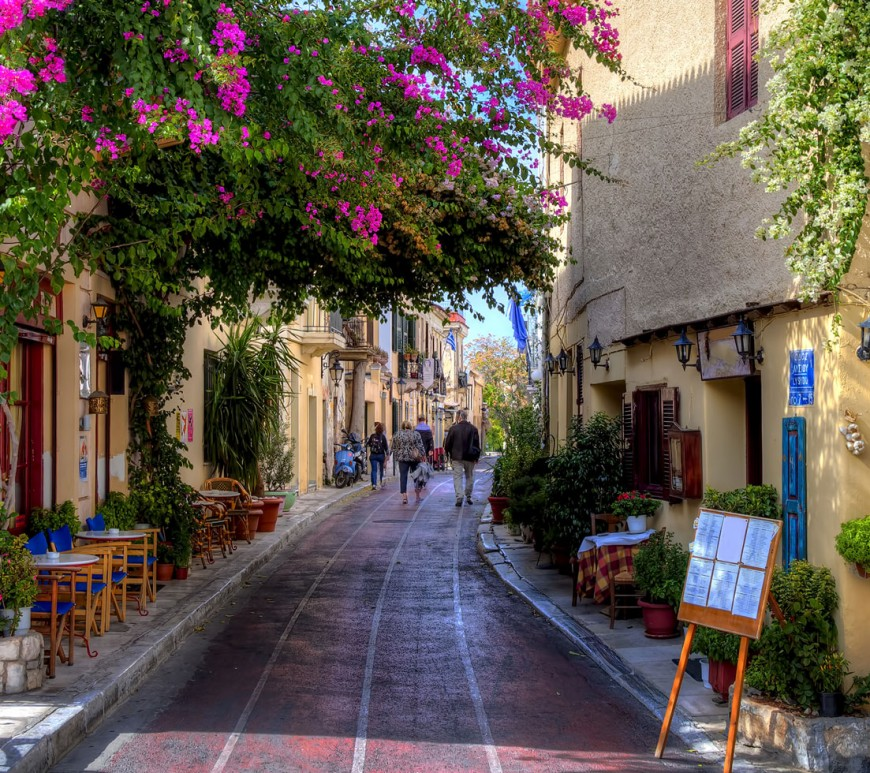 Athens Walking Tour: Explore The Beautiful Plaka And Monastiraki