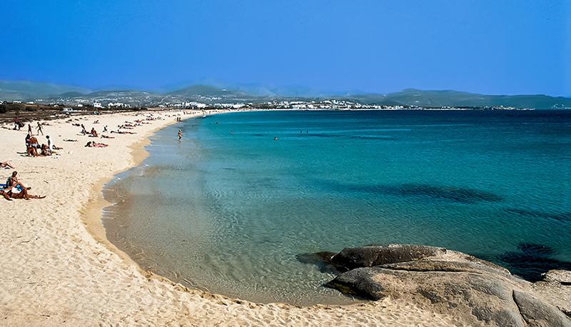 Αgios Prokopios beach, Naxos