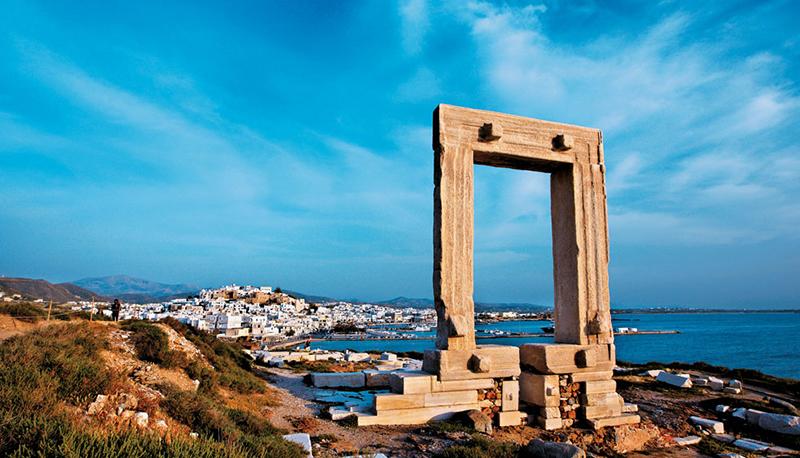 Portara, Naxos island, Cyclades