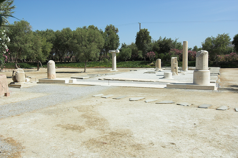 Yria - The sanctuary of Dionysos