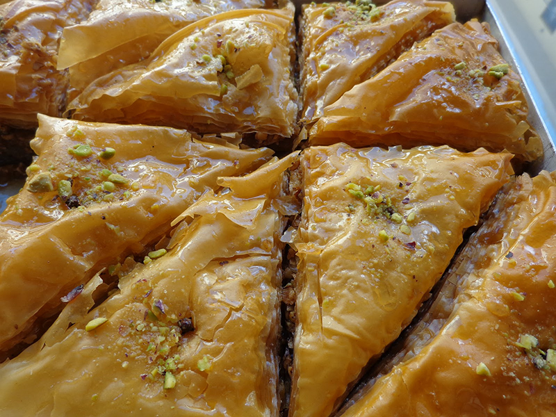 Baklava, Greek desserts and sweets